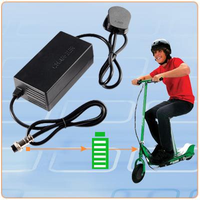promo chargeur de batterie velo scooter electrique 24v ebay. Black Bedroom Furniture Sets. Home Design Ideas